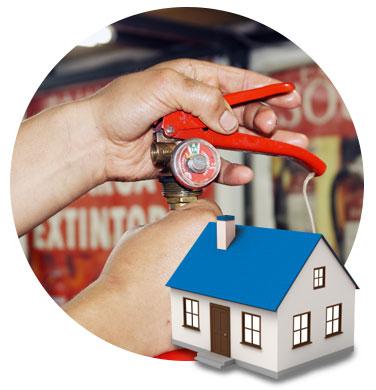 Casas y edificios | Extintores Souper